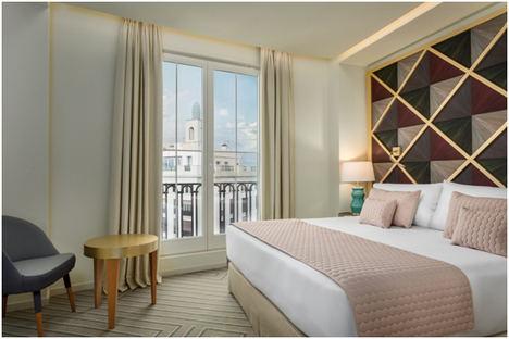 Kike Sarasola abre su nuevo hotel, Room Mate Macarena, en plena Gran Vía madrileña con una espectacular terraza