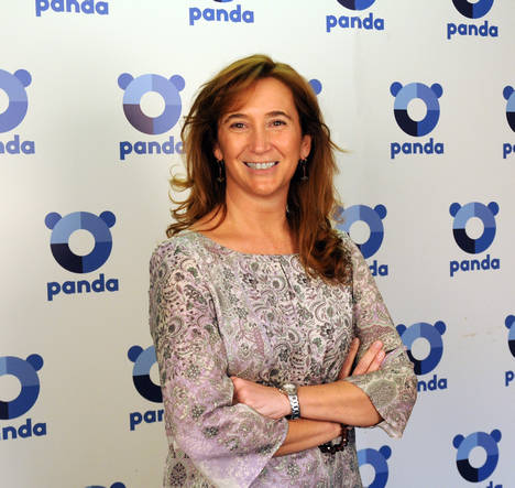 Rosa Diaz, directora general de Panda Security España.
