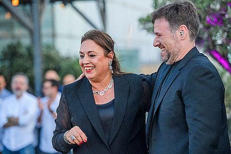 Roser Torras con Carlos Latre.