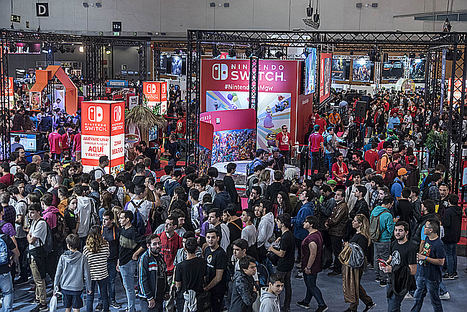 Rotundo éxito de Madrid GamesWeek2018