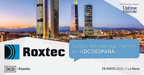 Roxtec mostrará sus soluciones para centros de datos en DCD Madrid
