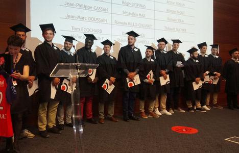 Toulouse Business School apoya la formación de los jugadores de rugby