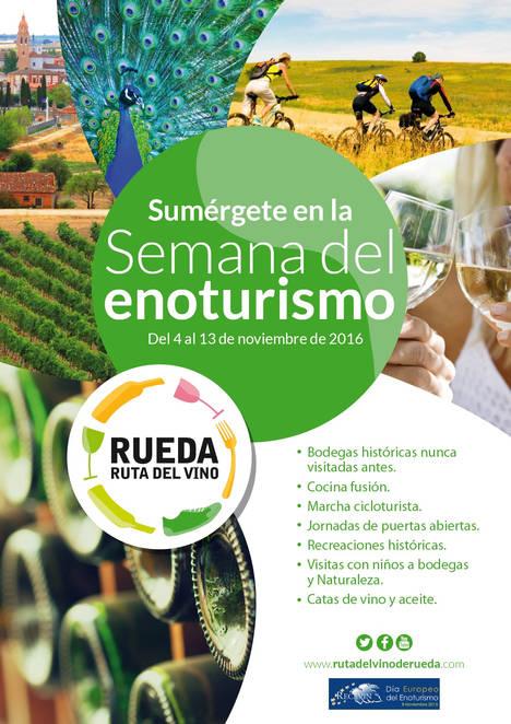 La Ruta del Vino de Rueda celebra el día del enoturismo con una semana llena de actividades