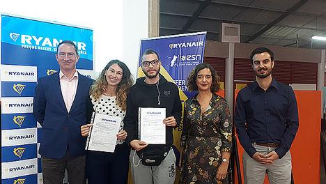 Ryanair anuncia que ha superado las 200.000 reservas en su plataforma exclusiva para Erasmus Student Network
