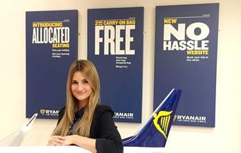 Ryanair nombra a Alejandra Ruiz, Sales & Marketing Manager para España