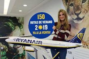 Ryanair pone ya a la venta su programación de vuelos para verano de 2019