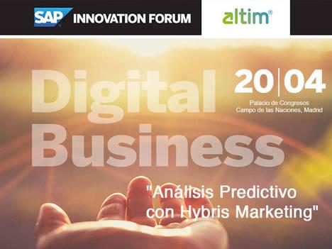 altim® presenta en SAP Innovation Forum las soluciones que transformarán los negocios