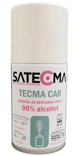 SATECMA lanza un aerosol para purificar e higienizar el interior de los vehículos de forma rápida y segura