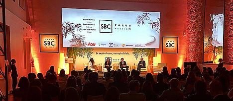 El SBC Forum reúne a más de 200 expertos para hablar de salud, bienestar y conciliación laboral