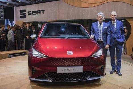 SEAT comienza su ofensiva eléctrica en Ginebra