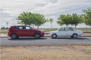 SEAT 124 versus SEAT Ateca