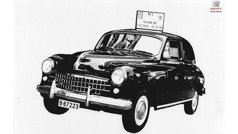 65 Aniversario del SEAT 1400, el vehículo que dio origen a la historia de la compañía