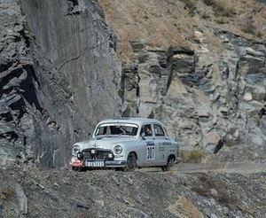 El SEAT 1400 entre los mejores del Montecarlo Histórico