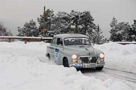 El SEAT 1400 regresa al Rallye de Montecarlo 65 años después