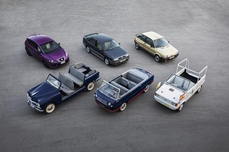 SEAT, 70 años y 16 coches especiales
