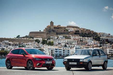 SEAT Ibiza, tres décadas de evolución