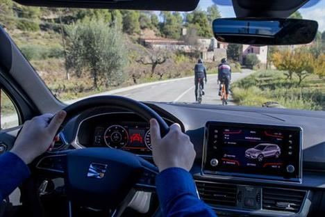 SEAT Tarraco, el coche que protege a los ciclistas