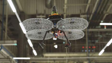 SEAT, drones en la fábrica del futuro
