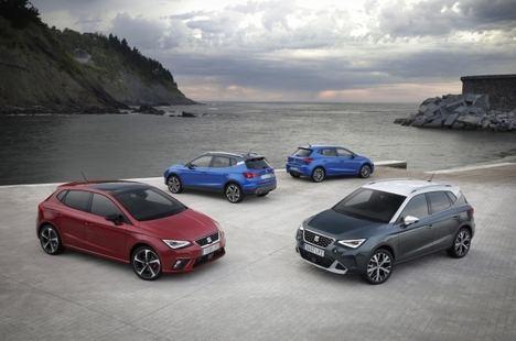 SEAT mostrará su gama en el Salón del Automóvil de Barcelona
