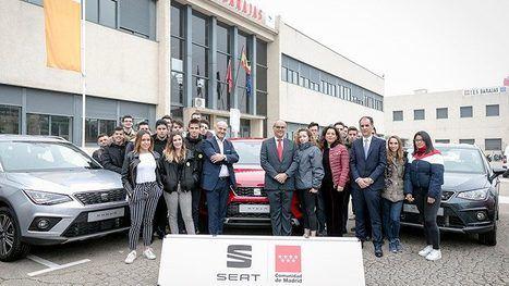 SEAT entrega 20 vehículos a la Comunidad de Madrid