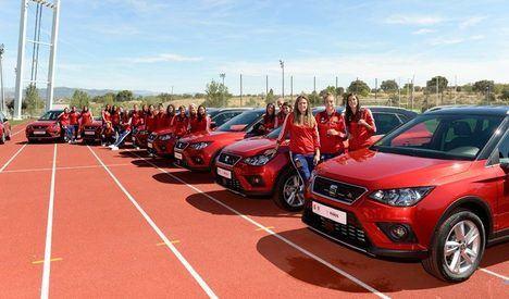 SEAT, nuevo socio patrocinador y vehículo oficial de la Selección Española Femenina de Fútbol