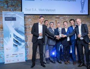 SEAT gana el premio Manufacturing Excellence 2017