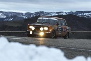 SEAT en el Rallye de Montecarlo Histórico