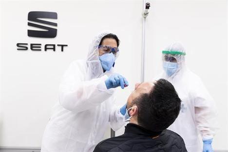 SEAT realizará test PCR a los 15.000 empleados