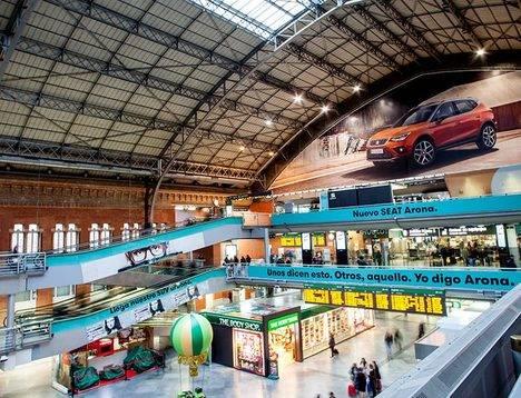 SEAT lanza un nuevo concepto de movilidad en la estación de Atocha