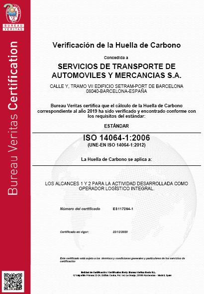 SETRAM logra la certificación ISO 14064 como empresa sostenible