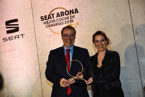 """El SEAT Arona premio """"Mejor Coche de Canarias 2018"""""""