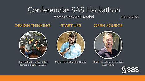 CORREOS y SAS animan la II edición del SAS Hackathon con charlas de Design Thinking, Start Ups y Open Source