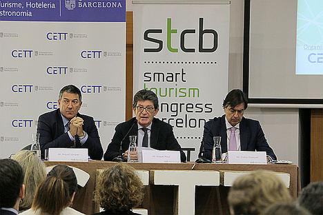 Especialistas en turismo inteligente comparten las tendencias del sector, durante tres jornadas en el Campus CETT-UB