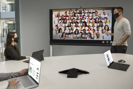 "Surface Hub 2S de 85"" para empresas llega a España para impulsar nuevos modos de colaboración"