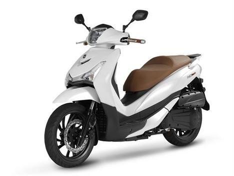Llega el HD 300, la nueva scooter de SYM
