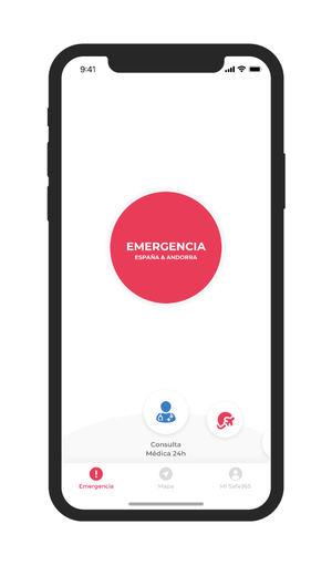 Salva su vida en el gallego Monte Blanco gracias a la app española Safe365