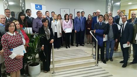 Ibermutuamur reconoce la labor en prevención y reducción de la siniestralidad laboral de 25 empresas en Salamanca