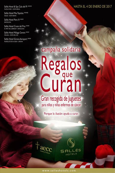 'Regalos que curan', la 3ª recogida solidaria de juguetes de Sallés Hotels