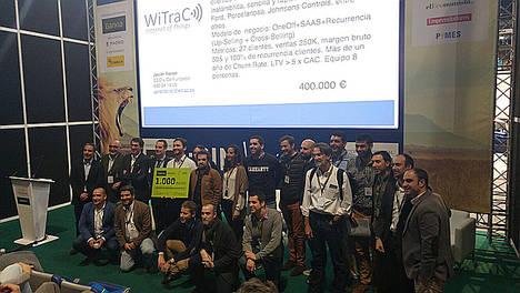 Salón MiEmpresa culmina con WiTraC como start-up ganadora del 'Elevator Pitch' y debates por todo lo alto