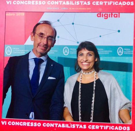 Salvador Marín y Paula Franco.