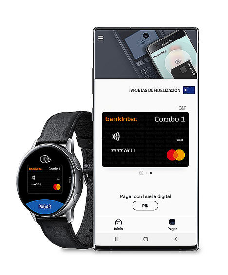 Bankinter se incorpora al servicio de pago móvil Samsung Pay