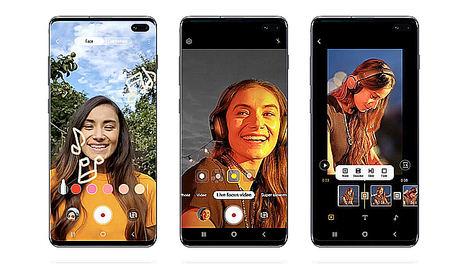 Samsung Galaxy S10 recibe funciones de Note10 en su última actualización de software