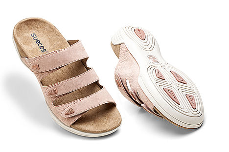 Suecos crea la primera colección de sandalias con suela antideslizante