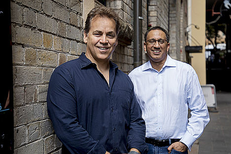 Sankar Narayan y Mike Ford, SiteMinder.