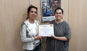 Genie Industries Iberica recibe el incentivo económico bonus que otorga el Gobierno a través de umivale por su baja siniestralidad laboral