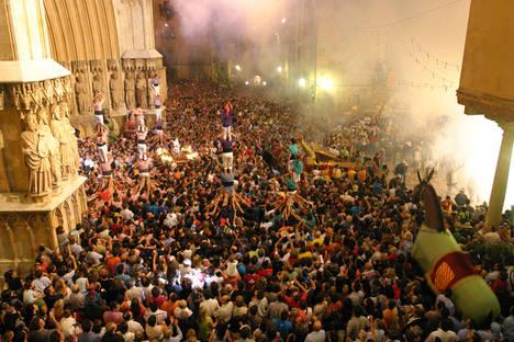 Tarragona vibrará con diez días de fiesta mayor en honor a su patrona, Santa Tecla