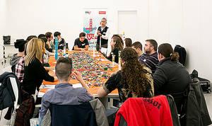 Santander YUZZ impulsará en 2017 940 proyectos emprendedores