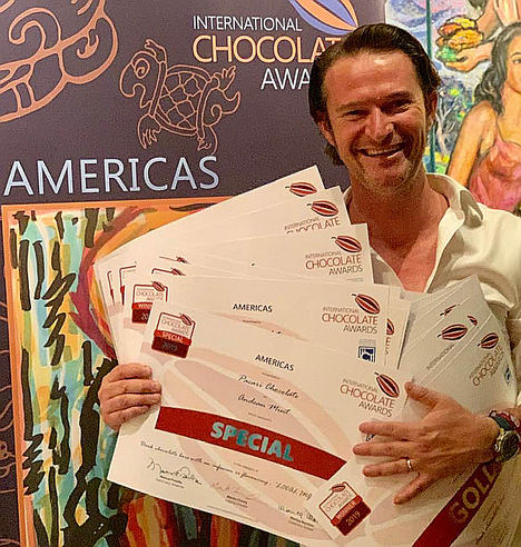 Pacari recibe 22 galardones en la Ronda de las Américas de los International Chocolate Awards