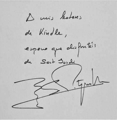 Más de 50 autores firman digitalmente sus libros para los lectores de Kindle con motivo de la celebración del nuevo Día del Libro el 23 de julio