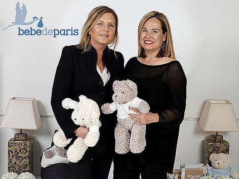 Sara Fernández de la Aldea y Elena Gómez del Pozuelo, socias fundadoras BebeDeParis.